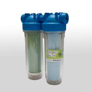 Filtro duo sedimento sabor y olor